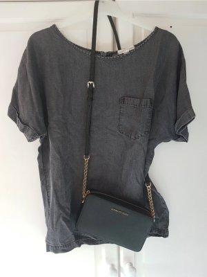 Esprit Oversized blouse donkergrijs-antraciet