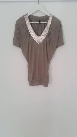 Bluse Shirt V Ausschnitt