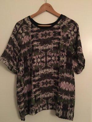 American Vintage Short Sleeved Blouse multicolored