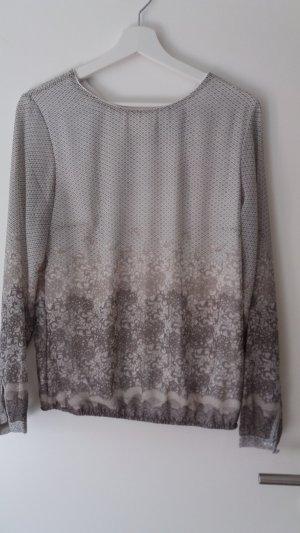 Bluse/Shirt von zero weiß/braun
