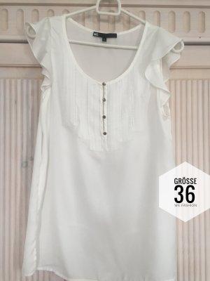 Bluse Shirt WE Fashion Größe 36 Weiß