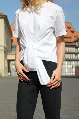 Bluse Shirt weiß white xs zara