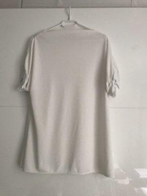 Zara Cowl-Neck Shirt white-natural white