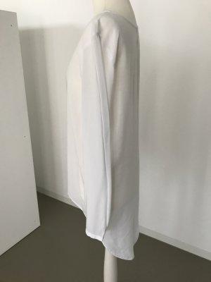 Sir Oliver Blusa de manga larga blanco-blanco puro