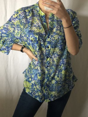 Slip-over blouse veelkleurig