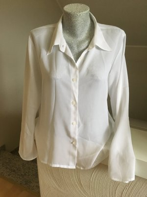 Street One Transparante blouse wit
