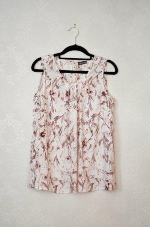 Street One Mouwloze blouse veelkleurig Polyester