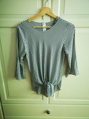 Bluse Streifen von Zara, Größe 36