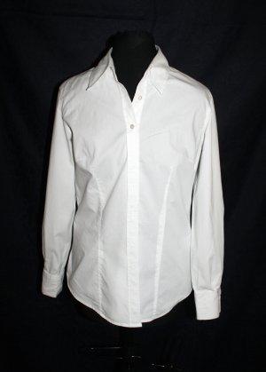 Bluse tailliert in weiss von FLG