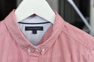 Tommy Hilfiger Blouse-chemisier rouge-blanc coton