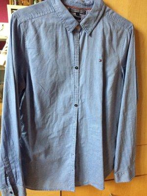 Bluse, Tommy Hilfiger, Gr12, blau