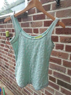 Blusa celeste-verde pallido