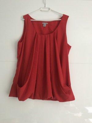 H&M Cowl-Neck Shirt multicolored