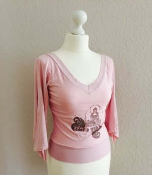 Bluse / Top in rosa, Gr. 34