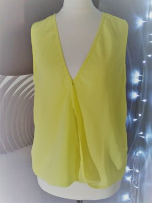 H&M Backless Top yellow