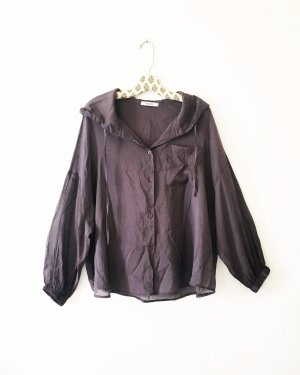 Vintage Blusa ancha multicolor
