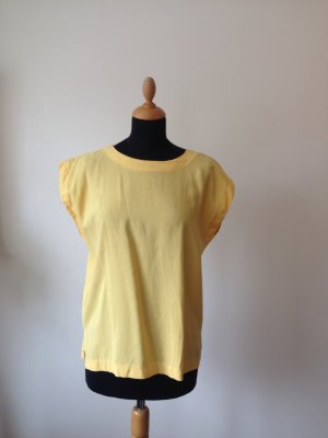 Bluse Top Shirt Schlupfbluse angeschnittener weiter Armausschnitt lässig oversize onsize