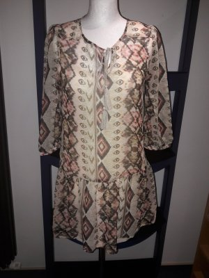 Bluse Top Shirt T-Shirt Hemd Vero Moda Gr.S/36 Tunika Long 3/4 arm locker Neu