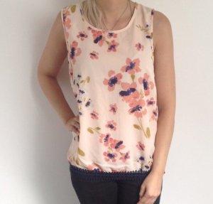 Bluse Top Shirt T-Shirt Hemd Vero Moda Gr XS 34 Tunika Long locker Neu