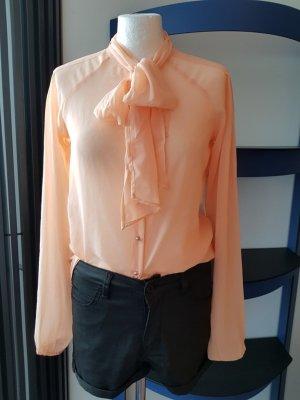 Bluse Top Shirt T-Shirt Hemd Vila Gr 36 S Tunika Long locker Neu Büro casual