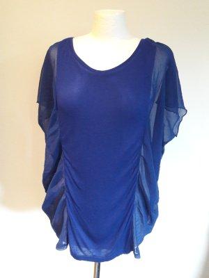 Bluse Top Shirt T-Shirt Only Vero Moda Gr. Gr.38/M Tunika Neu büro Chiffon