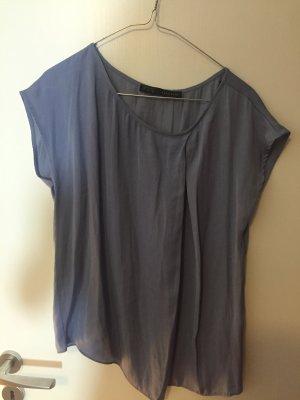 Bluse Top Zara hellblau S 36