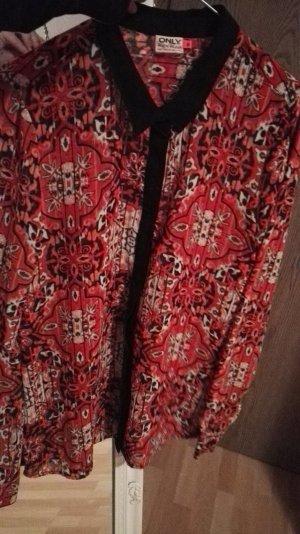 Bluse transparent/ 70'er Stil