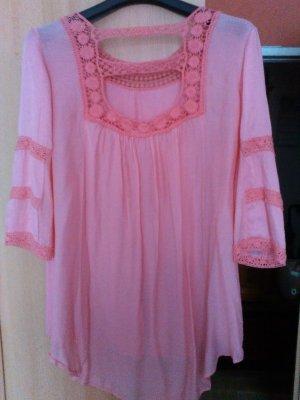 Bleifrei Oversized blouse rosé