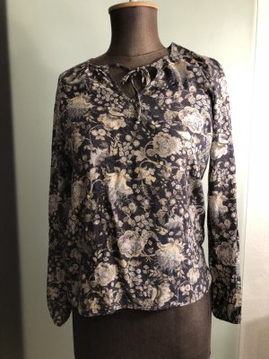 Bluse Tunika Gr 36 38 S Blumen Muster
