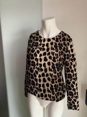 Bluse Tunika Gr 36 38 S von Zara Leoparden Look