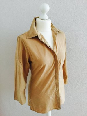 Bluse / Tunika in beige, Gr. 36