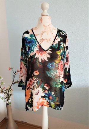 Bluse, Tunika mit Blumenmuster von H&M