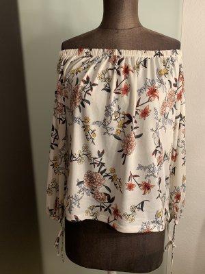 Amisu Carmen blouse veelkleurig