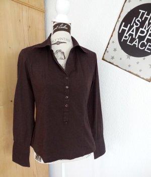 Bluse/Tunika - schokobraun - Gr. 38