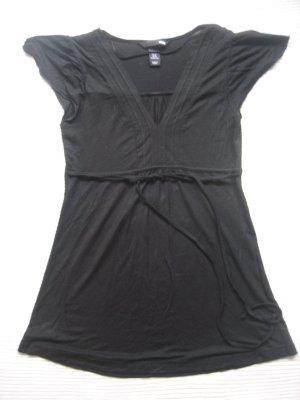 bluse tunika schwarz H&M neuwertig gr, 34 xs