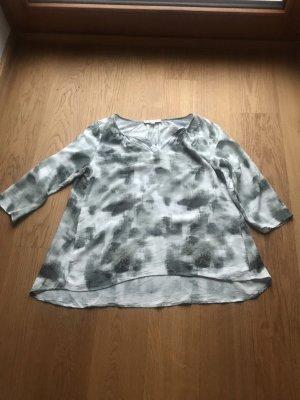 Comma Tunic Blouse grey-green grey