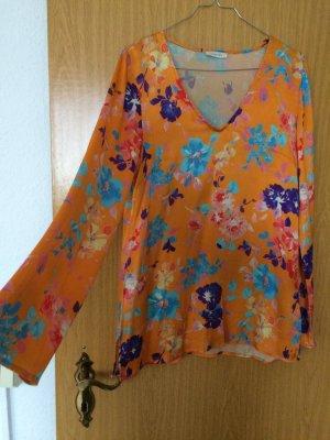Lilienfels Tunique-blouse multicolore soie