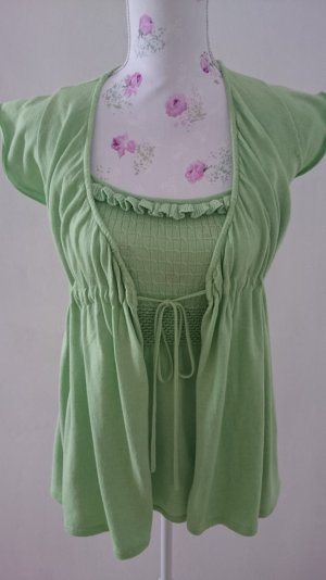 Apart Sweater Twin Set lime-green
