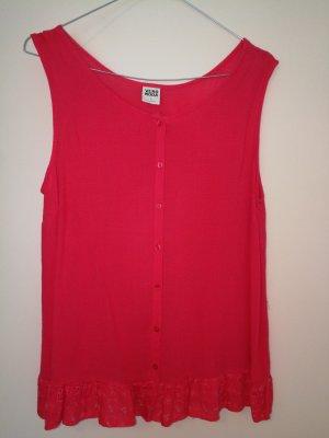 Vero Moda Blusa rosso lampone-magenta
