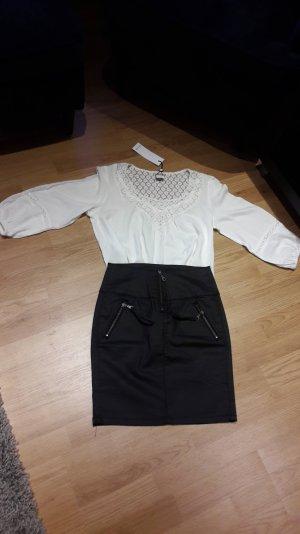 Bluse Vero Moda T-Shirt tunika top Shirt Neu Hemd spitze Gr.M/38 NEU 3/4 Arm Neu