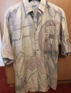 Colletto camicia grigio chiaro-rosa chiaro