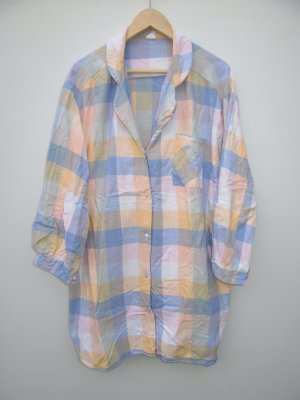 Bluse Vintage Retro pastell Gr. XL oversize
