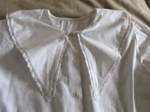 Bluse Vintage weiss