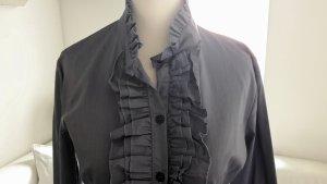 ♡ Bluse Volants Rüschen Gr.XS/S ♡ jeansfarben