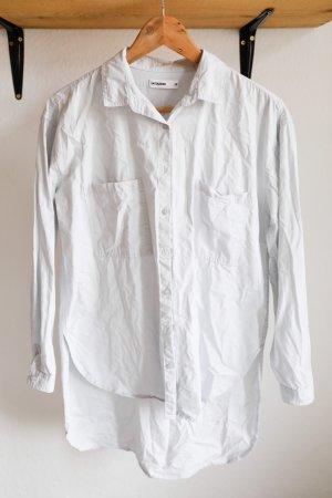 24Colours Blusa-camisa gris claro
