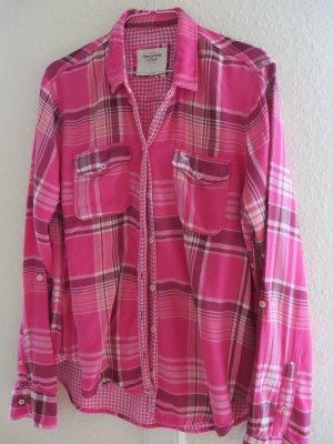 Bluse von Abercrombie & Fitch, pink, Gr.M