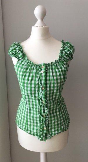 Almsach Camicetta a blusa bianco-verde