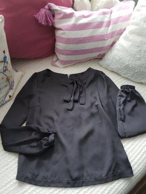 Bluse von Amisu, Grau XS