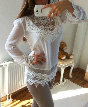 Bluse von Aniston 36 weiß neu