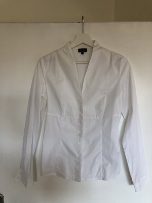 Armani Jeans Stand-Up Collar Blouse white